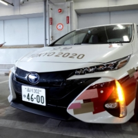 Toyota Motor Corp. , which will supply autonomous electric vehicles to the athletes' village, said that it 'wants to contribute to a safe Olympics with the power of mobility,' following a decision by organizers to hold most Olympic events behind closed doors.    POOL / VIA REUTERS