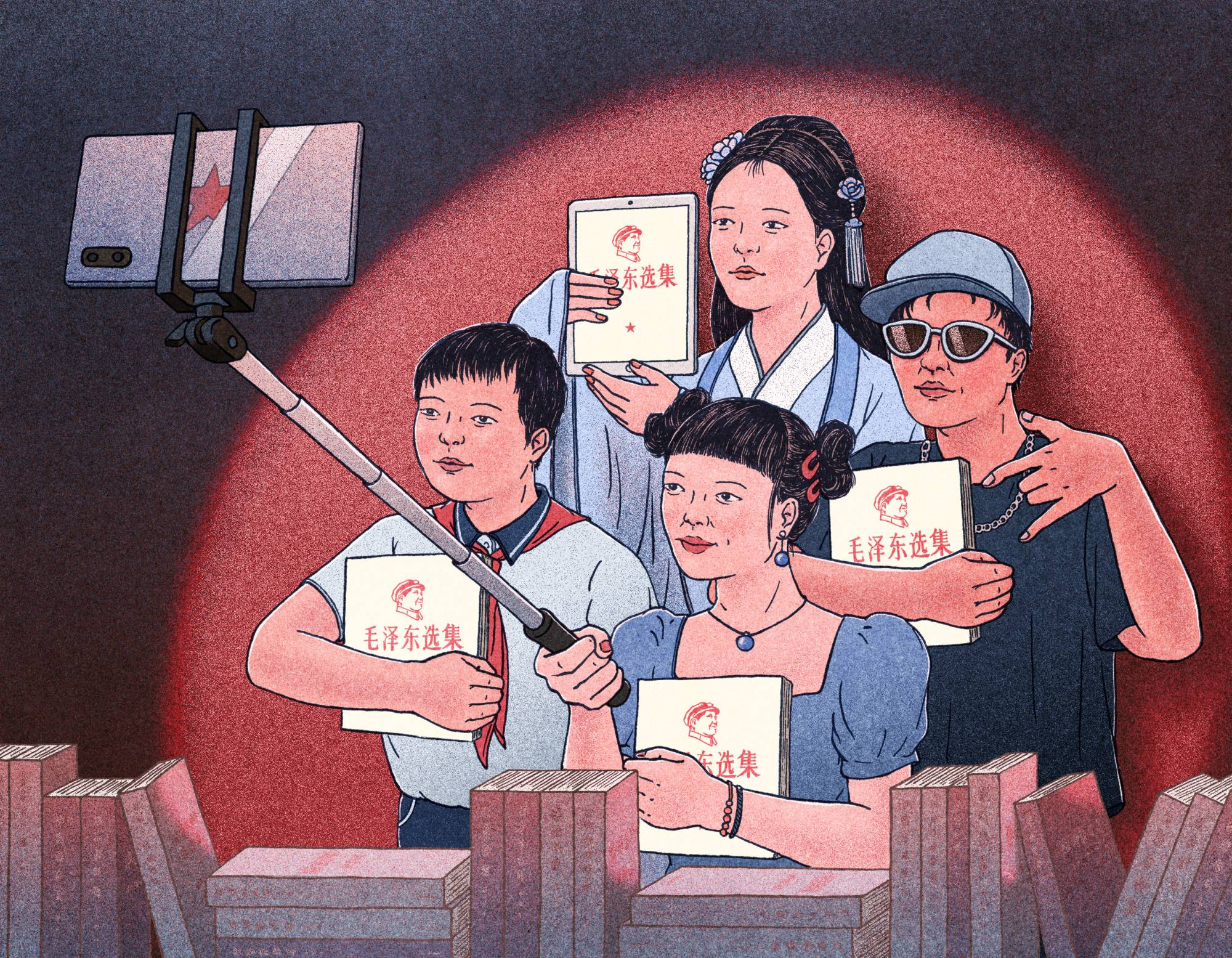 Chairman Mao is making a comeback among China's Generation Z. His call for struggle and violence against capitalists is winning over a new audience of young people frustrated with long work hours and dwindling opportunities.   XINMEI LIU/THE NEW YORK TIMES