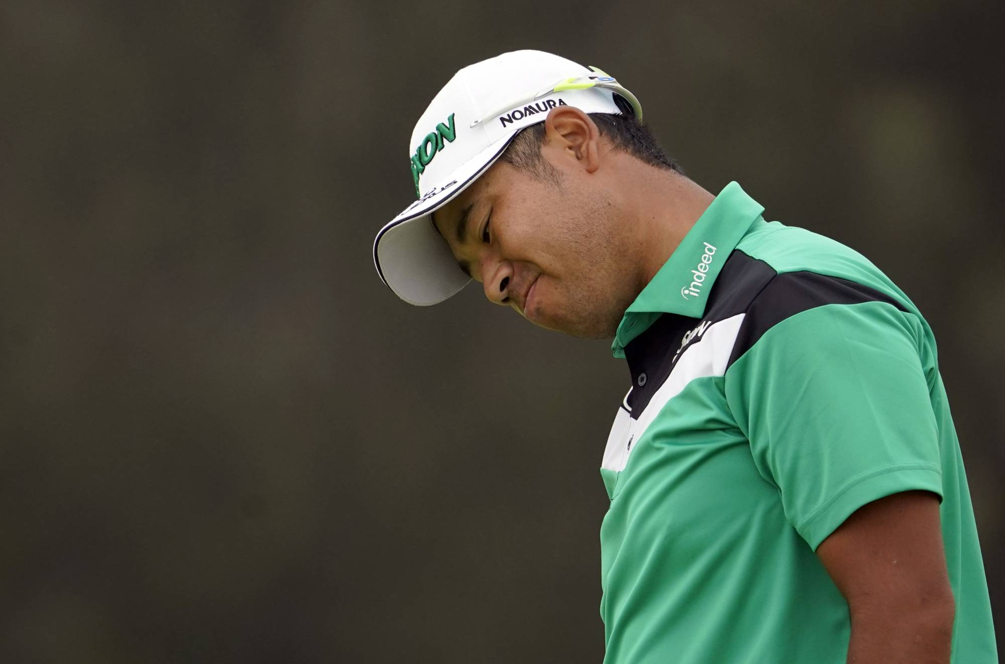 Continued positive COVID-19 tests have forced Hideki Matsuyama to withdraw from the British Open. | USA TODAY / VIA REUTERS