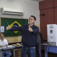 Jair Bolsonaro wages Trump-like campaign to sow doubt over voting in Brazil