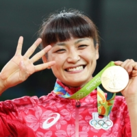 Wrestler Kaori Icho is the first female in any sport to be crowned Olympic champion in an individual event four games in a row. | KYODO