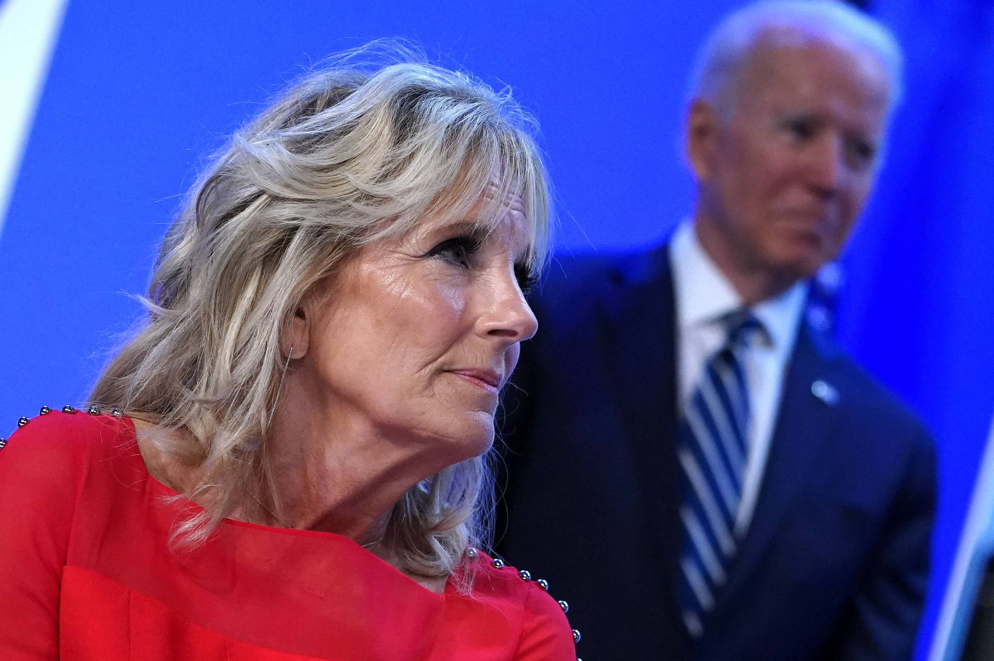 The White House on Tuesday said first lady Jill Biden will attend the Tokyo Olympics. | AFP-JIJI