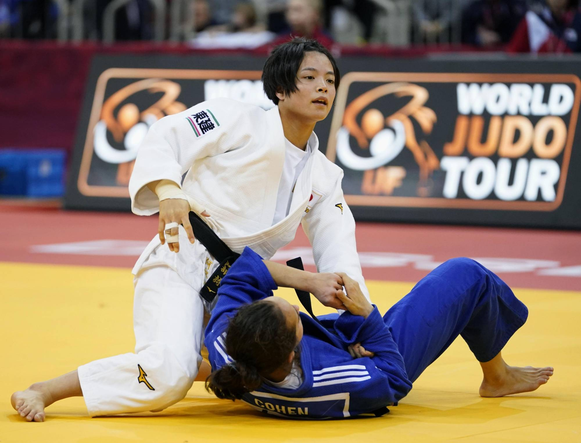Uta Abe and older brother Hifumi are two of the most recognizable faces among a Japanese judo squad that will contend for medals in virtually every weight class.   KYODO