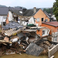 As floods hit Western Europe, scientists say climate change hikes heavy rain