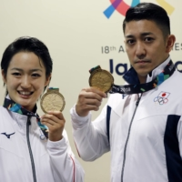Kiyou Shimizu and Ryo Kiyuna are two of Japan's best hopes for medals in karate at the Games | REUTERS