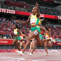 Day 8 recap: Jamaica sweep 100-meter podium as Games hit by first doping suspensions