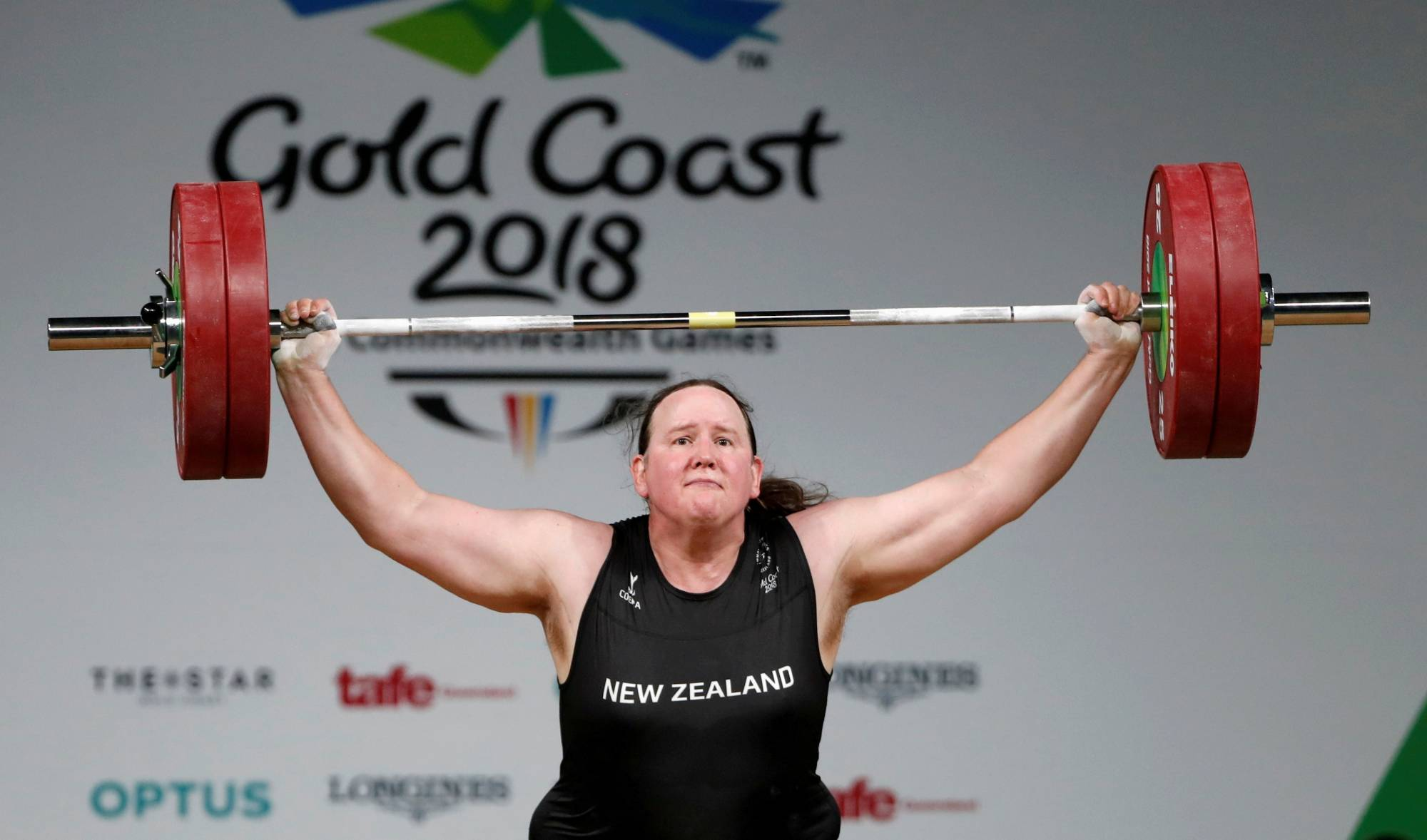 Laurel Hubbard of New Zealand is the the first openly transgender female athlete to compete at the Olympics. | REUTERS