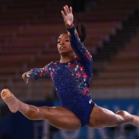 Simone Biles withdraws from Olympic floor exercise final