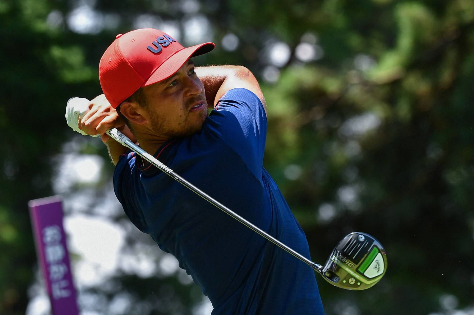 Xander Schauffele steadied after a late wobble to clinch gold for the United States at the Olympic golf on Sunday with a one-stroke victory as South Africa-born Rory Sabbatini claimed an unlikely silver for adopted nation Slovakia.   AFP-JIJI