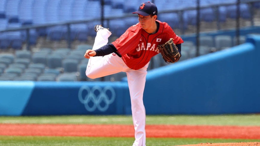 For Samurai Japan, young pitchers leading the way at Tokyo Olympics