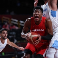 Japanese basketball team ends Olympics knowing it has plenty of work to do