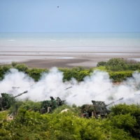 The annual Han Kuang military exercise in Taiwan in 2020 | BLOOMBERG