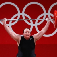 Fellow weightlifters have largely steered clear of discussing Laurel Hubbard's presence in the competition.   REUTERS