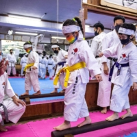 Karate officials have been pushing for the sport to be included in the Olympics since the 1970s, and the athletes taking part this summer are excited to finally be there. | AFP-JIJI