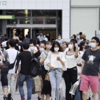 Tokyo reported 3,709 new cases of COVID-19 on Tuesday. | KYODO
