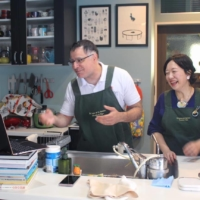 Mac Salman, of Maction Planet, transitioned to hosting online cooking classes for housebound viewers. | COURTESY OF MACTION PLANET