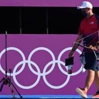 If the IOC had said only vaccinated athletes could compete, that would have freed thousands of athletes from the risk of infection and justified overriding U.S. archer Brady Ellison's decision to compete without being vaccinated. | REUTERS
