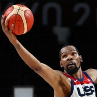 Kevin Durant powers Team USA to win over Australia in semifinal