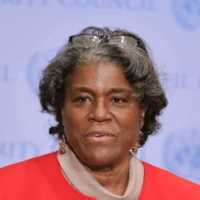 U.S. ambassador to the United Nations Linda Thomas-Greenfield   GETTY IMAGES / KYODO