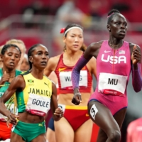 Athing Mu races to Olympic gold in the women's 800-meter final.  | REUTERS