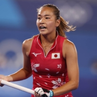 Japan's Maho Segawa is hoping to play at a club in the competitive Dutch league or another European competition such as Belgium or Spain to get a chance to develop her hockey skills and style.   REUTERS