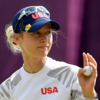American Nelly Korda closes in on gold as India's Aditi Ashok eyes surprise medal