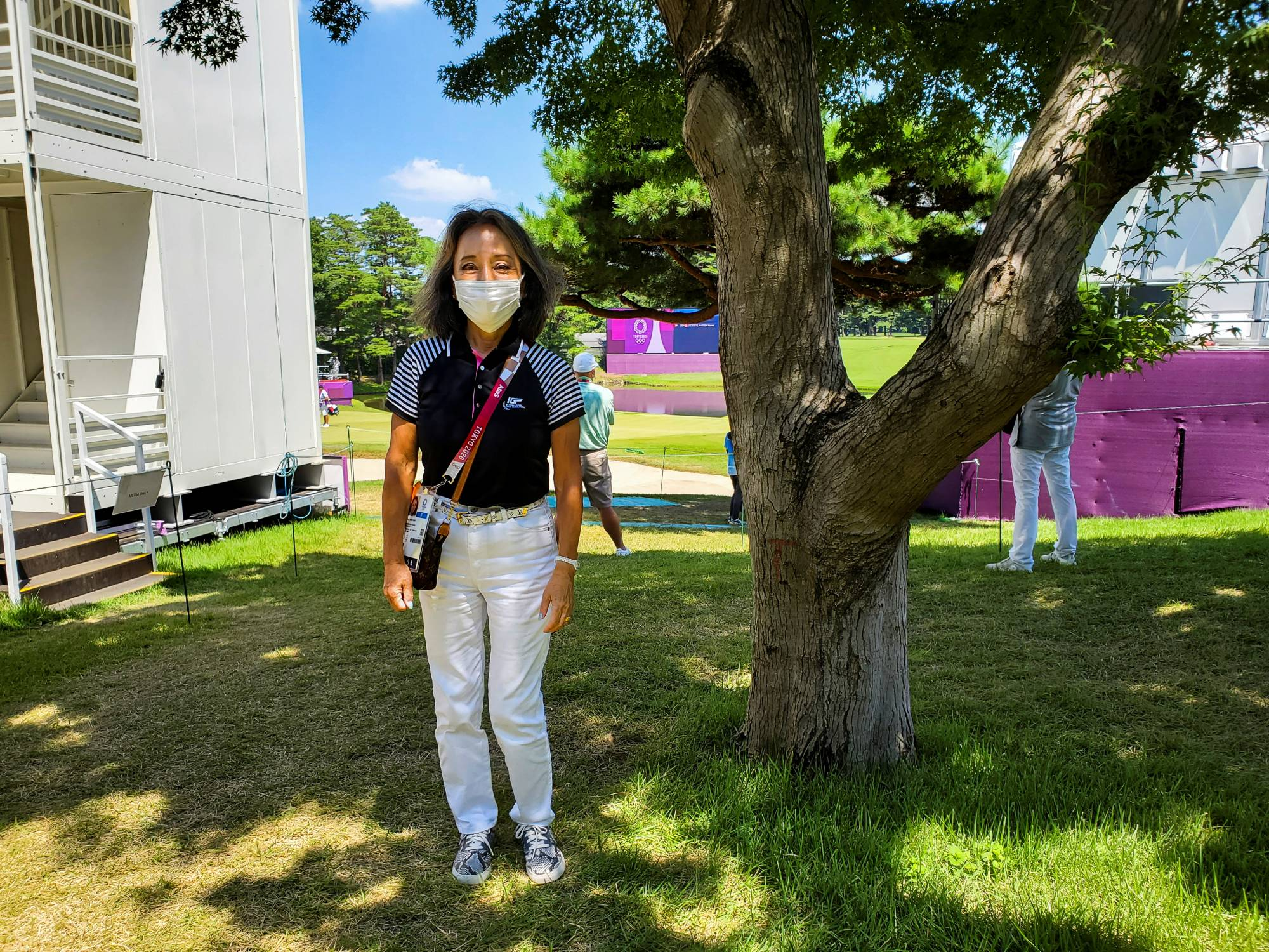 Nobuko Hirayama, is one of just a dozen women among the 1,200 full members at the Kasumigaseki Country Club just outside Tokyo, the venue for men and women's golf at this year's Games. | REUTERS