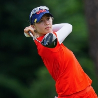 American Nelly Korda takes gold in women's golf; Japan's Mone Inami in playoff for silver