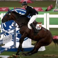 Germany's modern pentathlon coach disqualified after punching horse at Tokyo Games