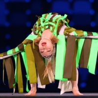 A contemporary dance performance during the closing ceremony