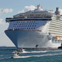 Royal Caribbean had to hurry to notify nonvaccinated guests booked on an Aug. 8 sailing on the 6,780-passenger Allure of the Seas, one of the largest ships in the world, of changes to entry rules in the U.S. Virgin Islands, which stipulated visitors must be vaccinated. | REUTERS
