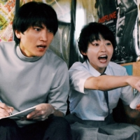 Go the distance: A teenage aspiring director (Marika Ito, right) unknowingly casts a time-traveling fan of her work (Daichi Kaneko, left) as the lead in her first film in 'It's a Summer Film.' | © 2021 'IT'S A SUMMER FILM' PRODUCTION COMMITTEE