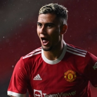 Manchester United midfielder Andreas Pereira | AFP-JIJI