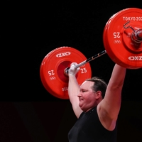 Laurel Hubbard is the first transgender woman to compete at the Olympics.  | REUTERS