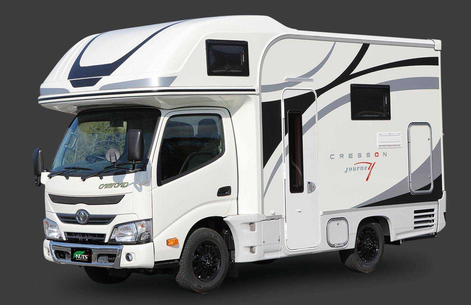 Demand for recreational vehicles is expected to grow further, as they are also increasingly used for remote work amid the pandemic and during natural disasters. | NUTS RV CO. / VIA KYODO