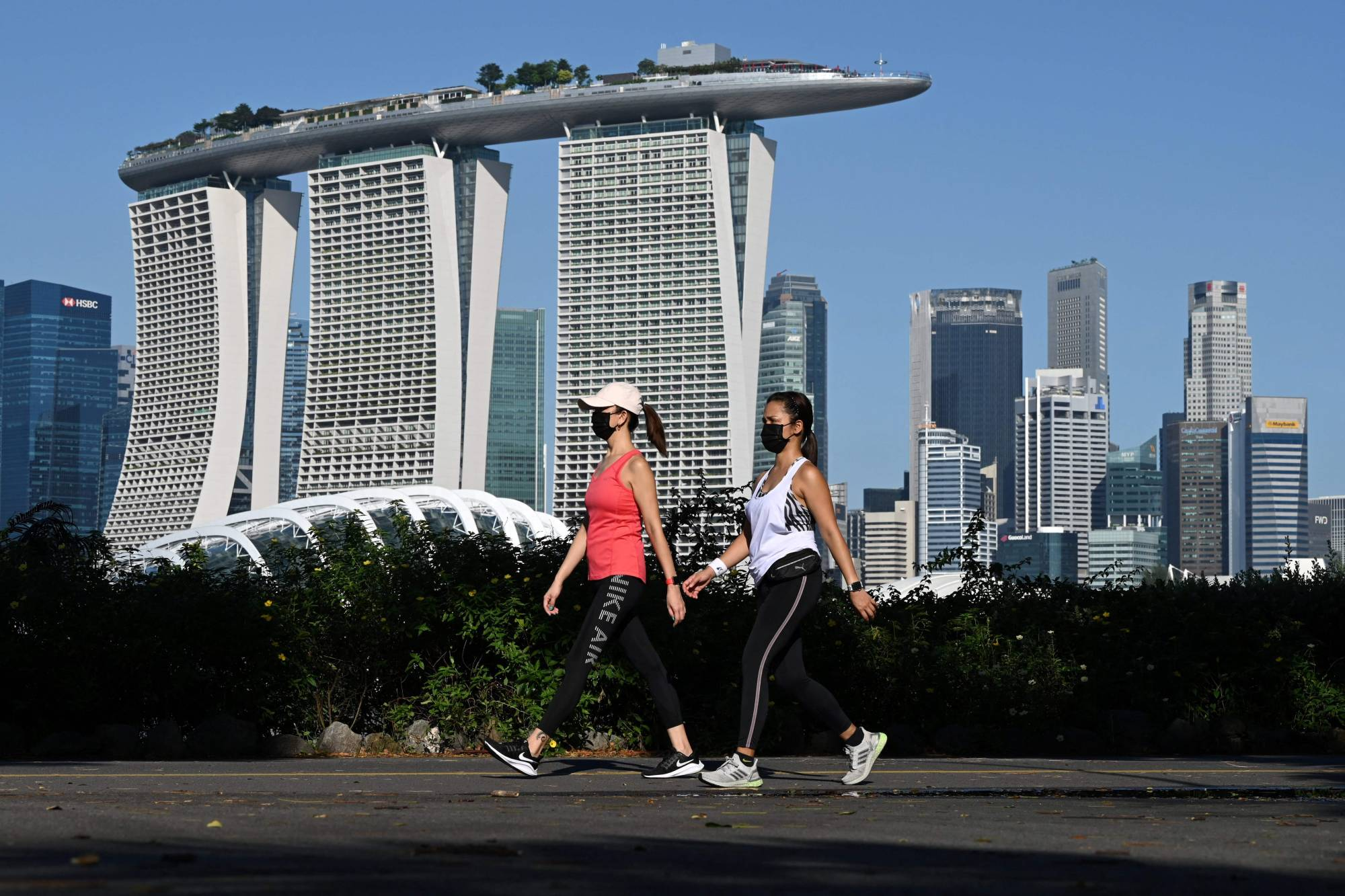 Rebounding from the carousel of COVID-19 closures and reopenings is going to be tough on Singapore. Even harder will be papering over the social and economic divisions that have deepened because of the disease.   AFP-JIJI