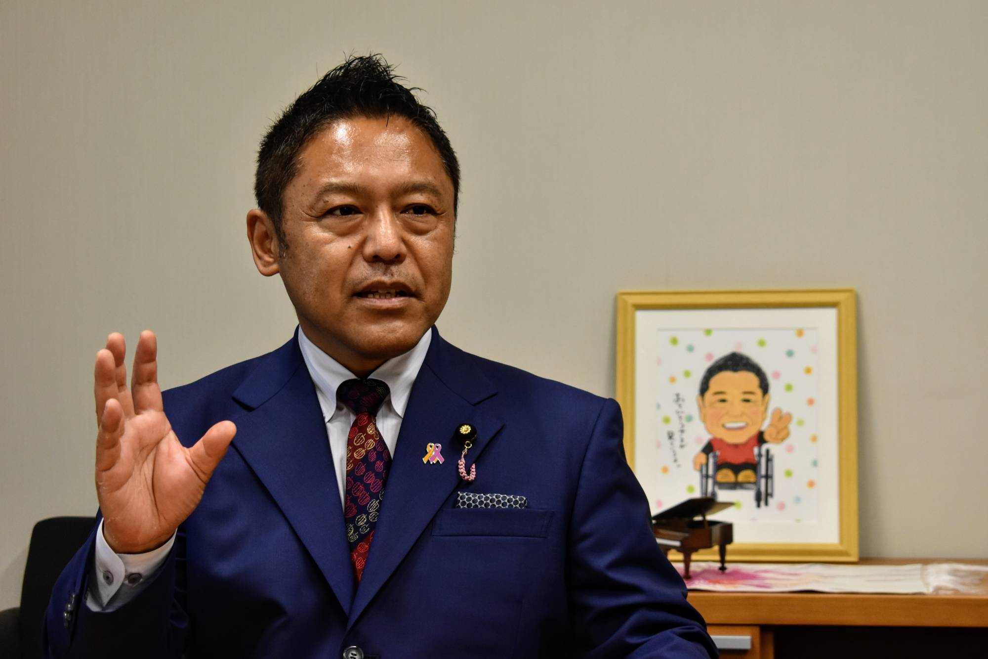 Paralympian-turned-lawmaker Takanori Yokosawa says no event can fix the world's attention on athletes with disabilities like the Paralympics can.   TOMOHIRO OSAKI