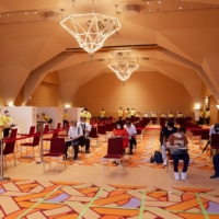 Room to grow: The entirety of the New York Ballroom has been retrofitted to accommodate 1,700 visitors at a time. | YUUKI IDE