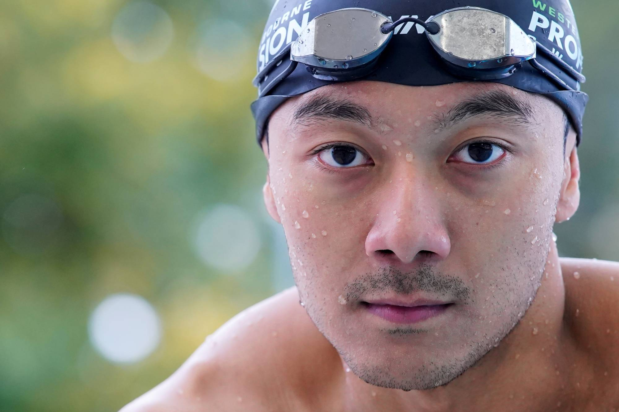 Myanmar swimmer Win Htet Oo boycotted the Tokyo 2020 Olympic Games to protest the military junta ruling the country.   REUTERS