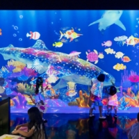 TeamLab targets little minds with art designed to stimulate