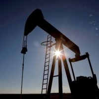 A crude oil pump jack in the Permian Basin in Loving County, Texas   REUTERSE