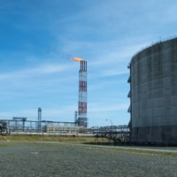 A liquefied natural gas plant in Sakhalin, Russia   REUTERS