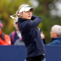Tokyo Olympic champion Nelly Korda in 3-way tie for lead at Women's British Open