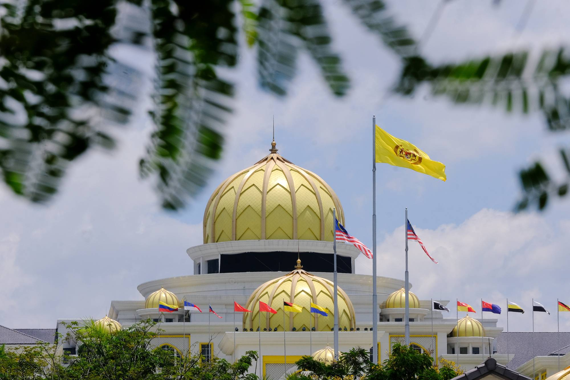 The National Palace in Kuala Lumpur on Saturday   BLOOMBERG