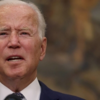 President Joe Biden gives a statement about the U.S. withdrawal from Afghanistan at the White House on Tuesday.    REUTERS
