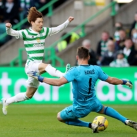 Celtic forward Kyogo Furuhashi calls out racism after abuse from Rangers fans