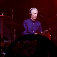 Love is strong: Charlie Watts of the Rolling Stones performs during a concert of their 'No Filter' European tour in France in October 2017.   | REUTERS