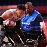 Japan holds off France in wheelchair rugby opener at Tokyo Paralympics