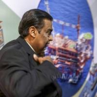 Even as Mukesh Ambani touts a shift to less polluting energy sources, crude's byproducts will remain one of the biggest drivers of the $80 billion fortune. | BLOOMBERG