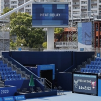Tokyo Paralympic tennis matches start after six-hour heat delay